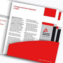 <h2>Brochure istituzionale</h2><br><h3>American Appraisal</h4><br>CORPORATE IDENTITY</h3>