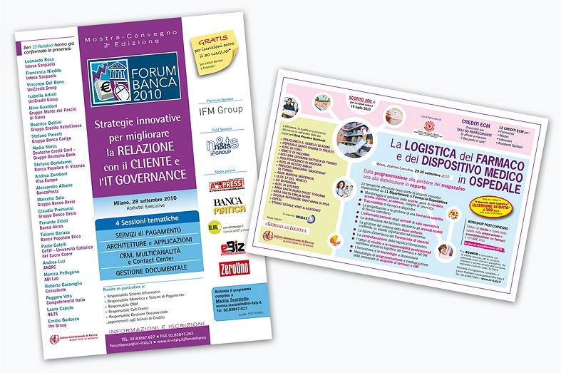 <h2>Pagina pubblicitaria per eventi</h2><br><h3>IIR - Istituto Internazionale di Ricerca</h3><H4>ADV</h4>