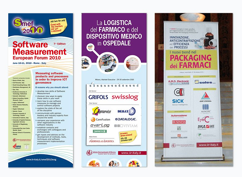 <h2>Roll-up per convegni</h2><br><h3>IIR - Istituto Internazionale di Ricerca</h3><H4>POP ADVERTISING</h4>