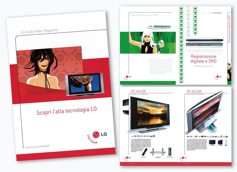 <h2>Proposte catalogo Audio Video</h2><br><h3>LG</h3><H4>BROCHURE-CATALOGHI</h4>