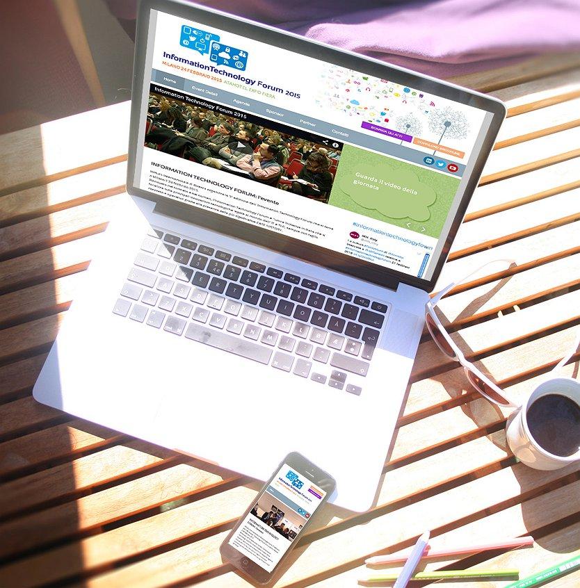 <h2>Sito internet per convegno</h2><br><h3>IIR - Istituto Internazionale di Ricerca</h3><H4>WEBSITE</h4>